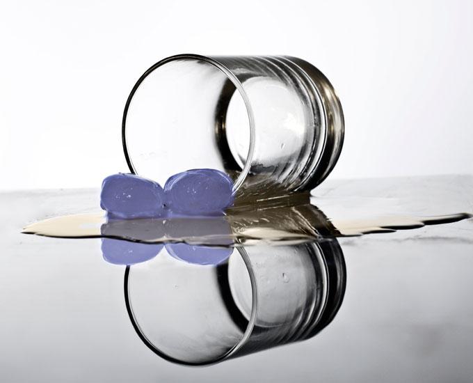 Glas - gefrorene Flüssigkeit?