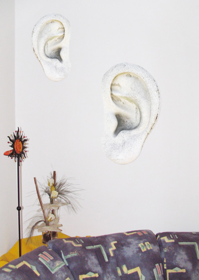 Wände haben Ohren