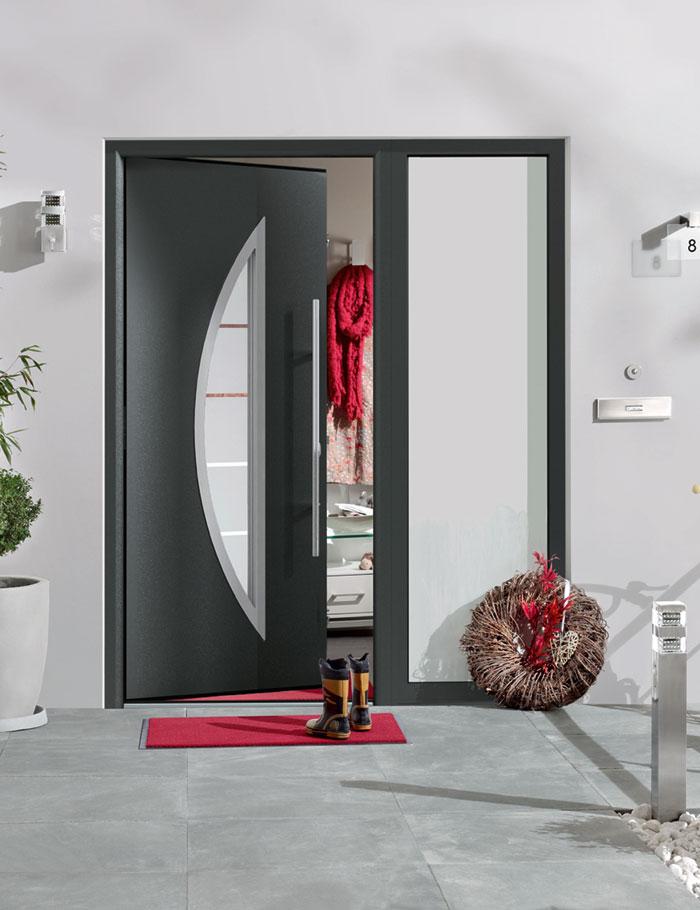 woraus bestehen heutzutage haust ren t ren und tore baustoffwissen. Black Bedroom Furniture Sets. Home Design Ideas
