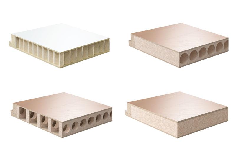 Hervorragend Röhrenspan oder Vollspan? Aufbau & Material von Innentüren IB37