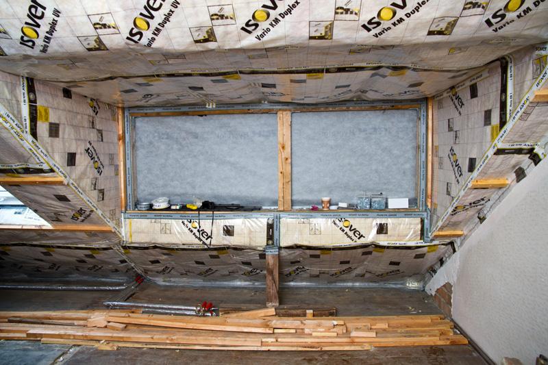 baustoffwissen.de: Dampfsperre im Dachgeschoss