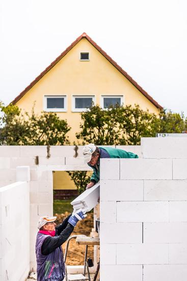 Rohbau-Mauerarbeiten