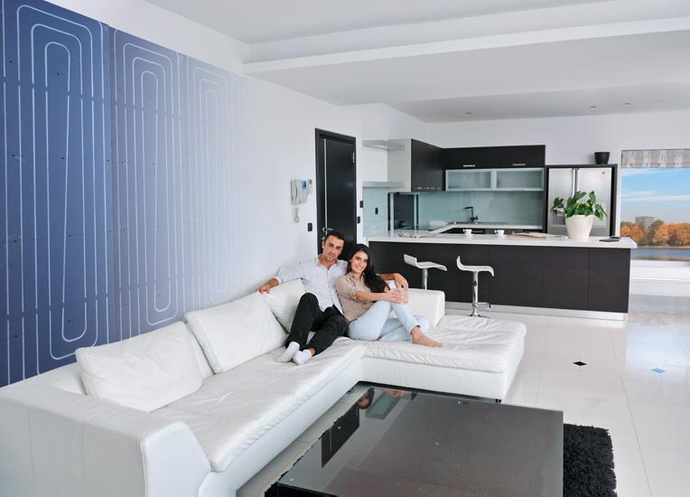 vor und nachteile von fl chenheizungen heizen und k hlen baustoffwissen. Black Bedroom Furniture Sets. Home Design Ideas