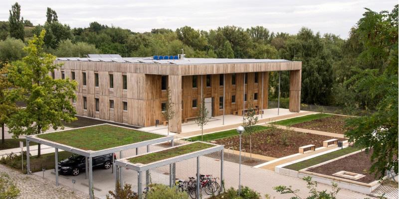 Das neue Bürogebäude des Umweltbundesamtes