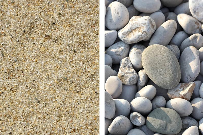 Sehr Die Unterschiede von Kies, Schotter, Splitt, Sand und Schroppen WQ21